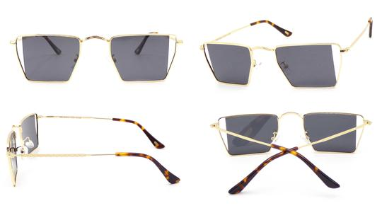 Sunglasses | Hexa Side Slice | Gold