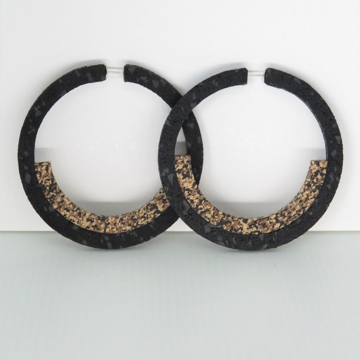 Earrings Sunset Hoops Large