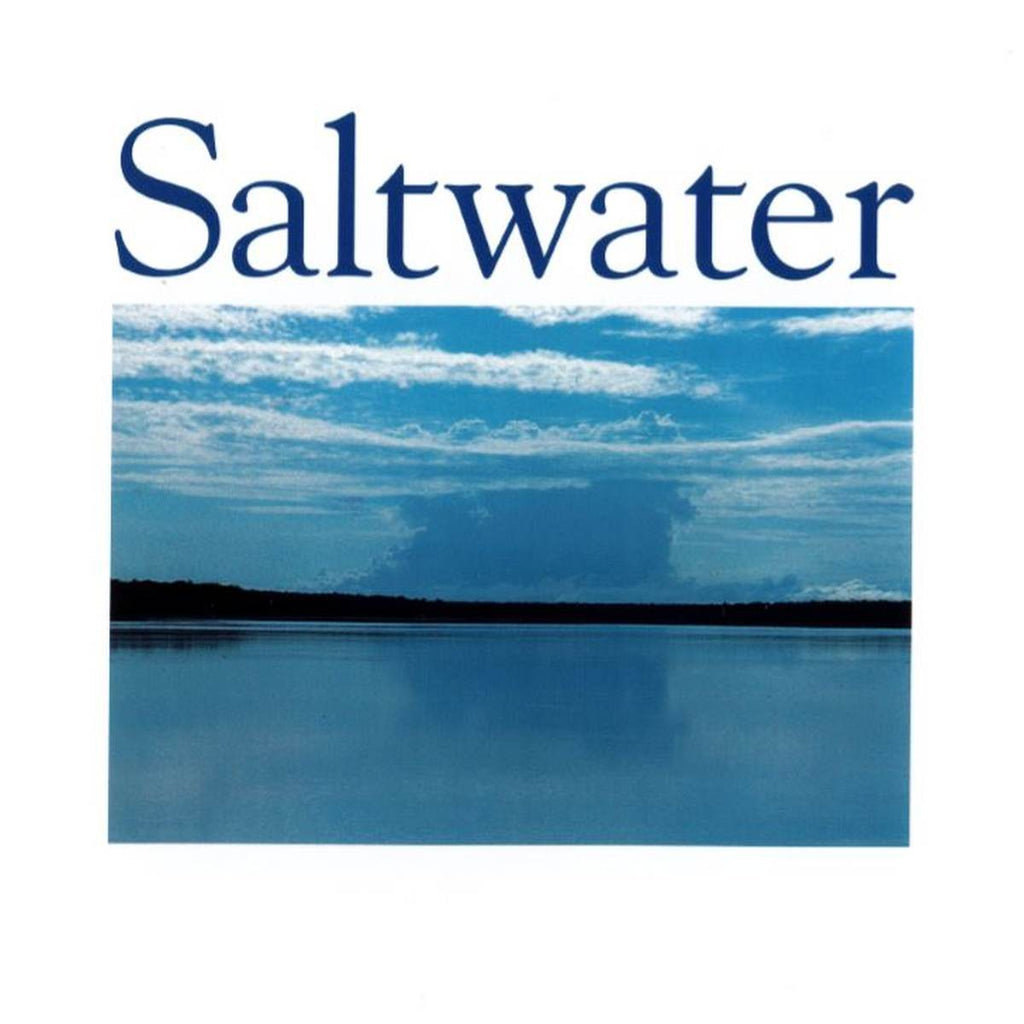 Book featuring cover art of Saltwater: Paintings of Sea Country: The Recognition of Indigenous Sea Rights