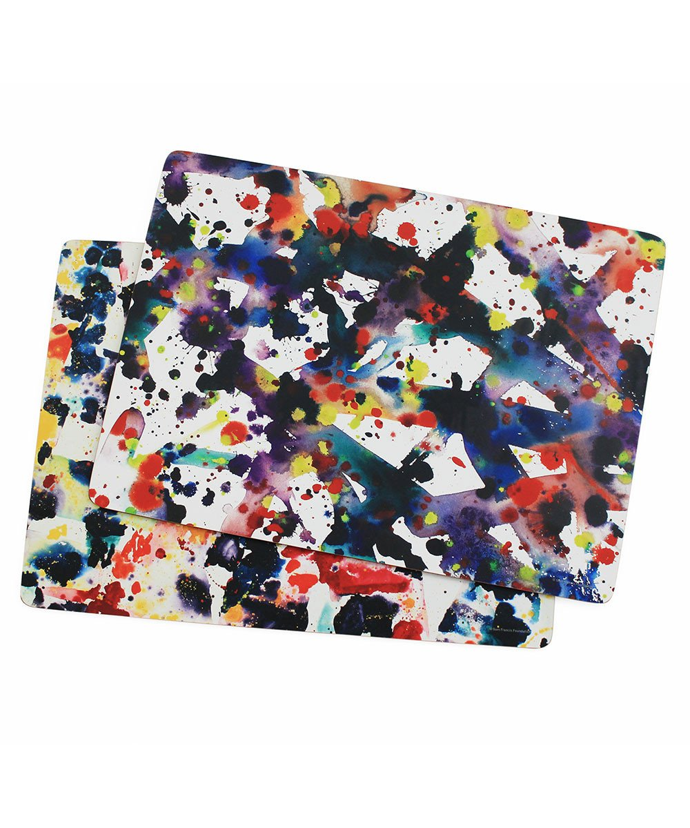 Corkboard Placemat Set X Sam Francis