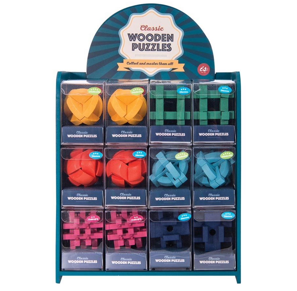 Classic Wooden Puzzle | Assorted
