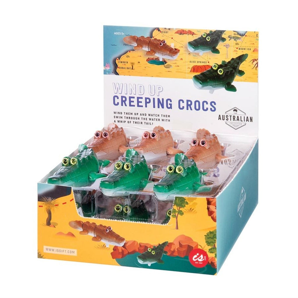 Wind Up Bath Toy | Creeping Crocs