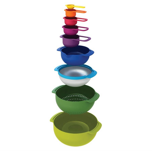 Multi Colour Nesting | Set of 9
