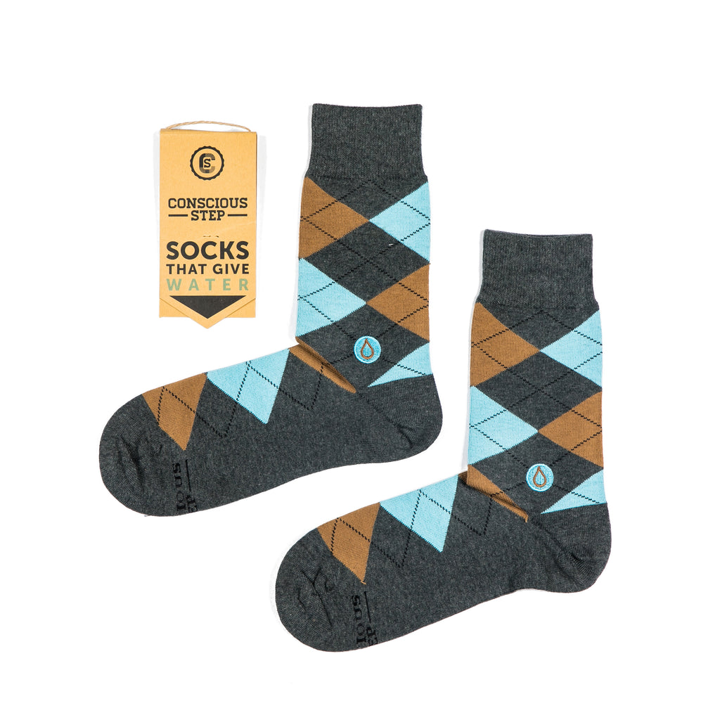 Socks that Give Water - Argyle