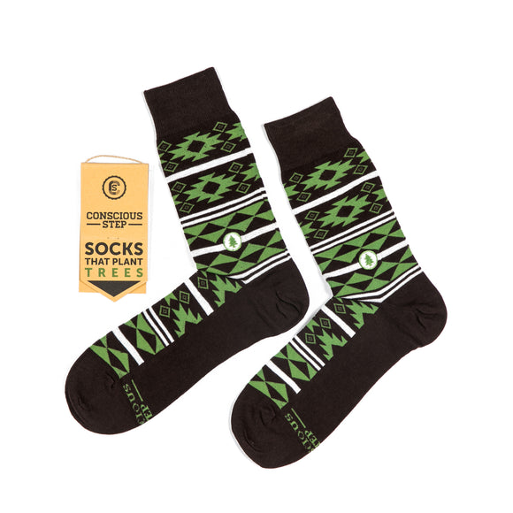 Socks that Plant Trees - Aztec