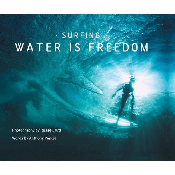 Book featuring cover art of Surfing: Water is Freedom