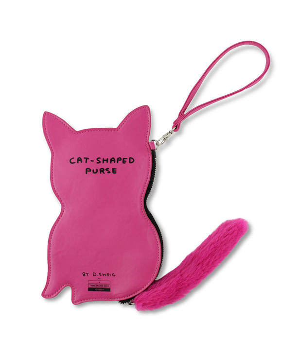 Cat Purse x David Shrigley
