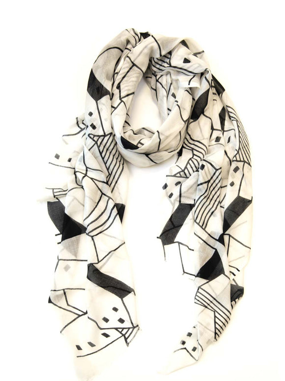 Scarf Township Black/White