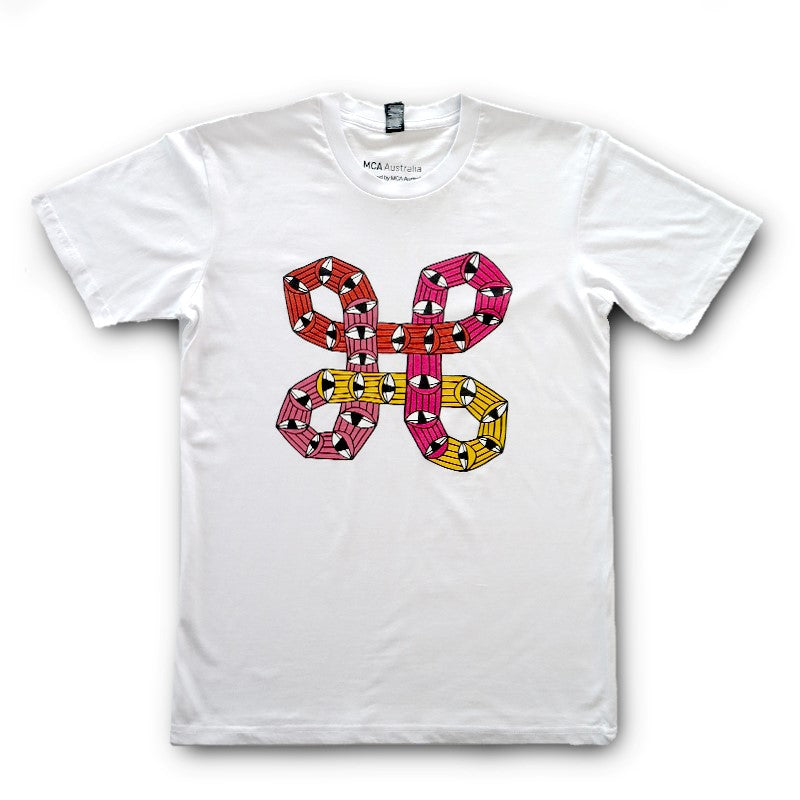 Tshirt Jeff McCann x MCA Mens Small White