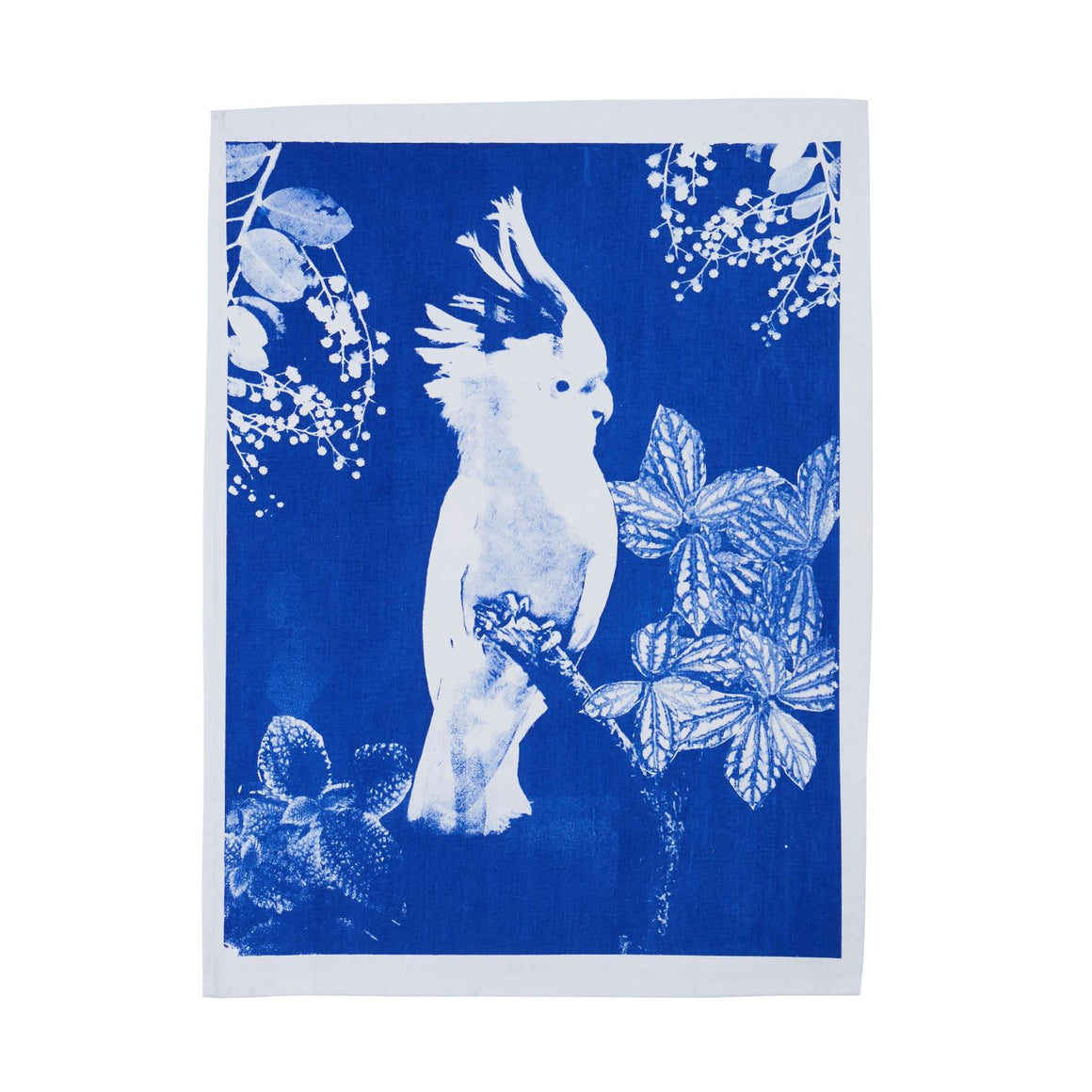 Tea Towel Big Major Blue Cotton
