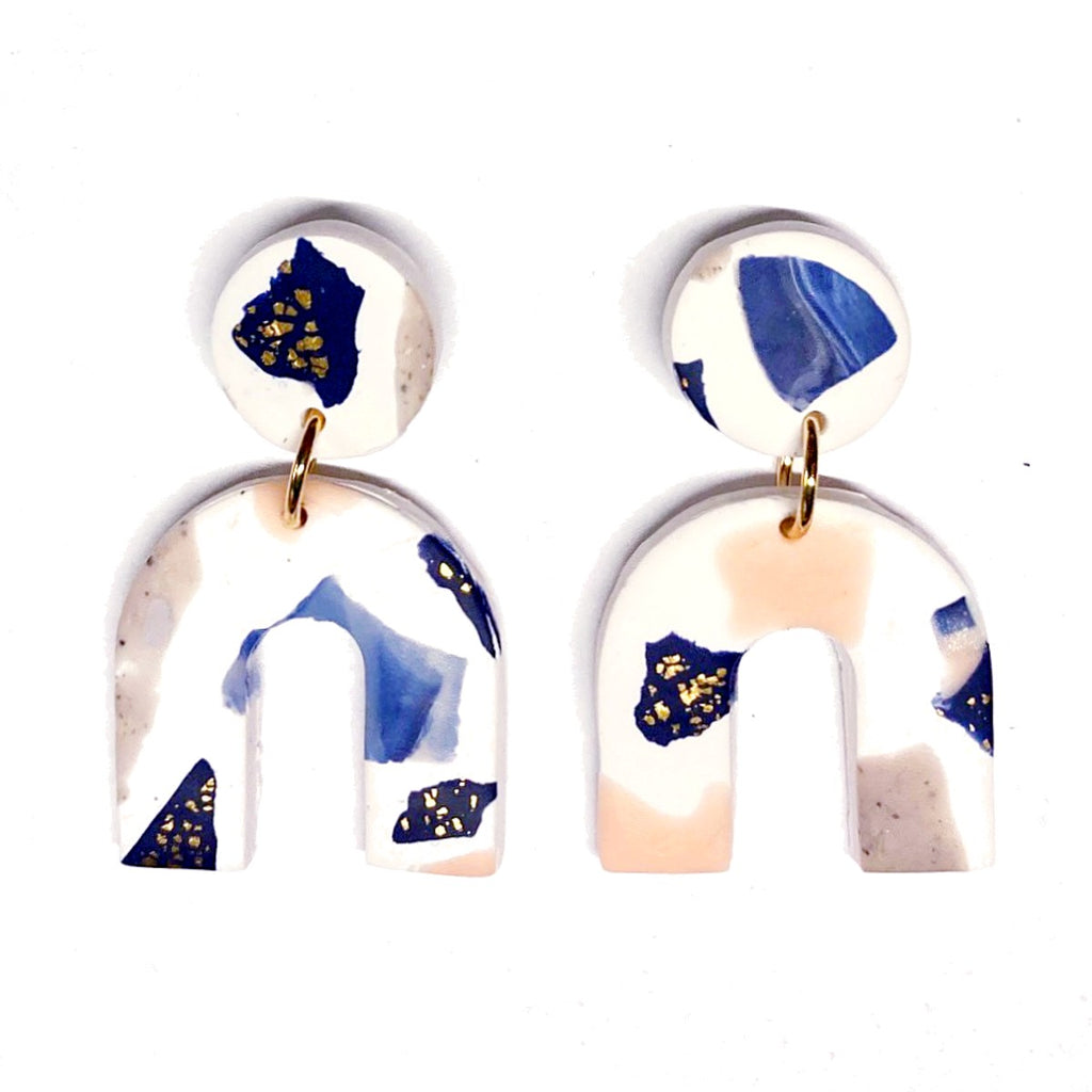 Earrings | Terrazzo arches