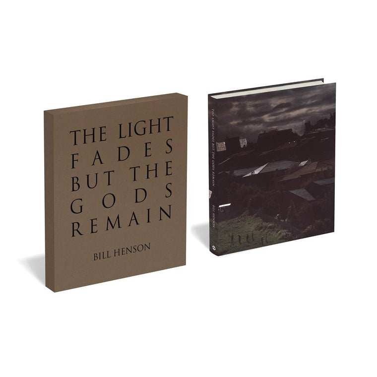 A Book of Bill Henson photography shown next to the Slip Case for the book.