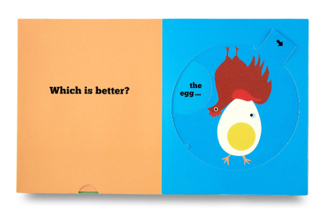 This or That? Pop-up Book. Author: Delphine Chedru & Bernard Duisit