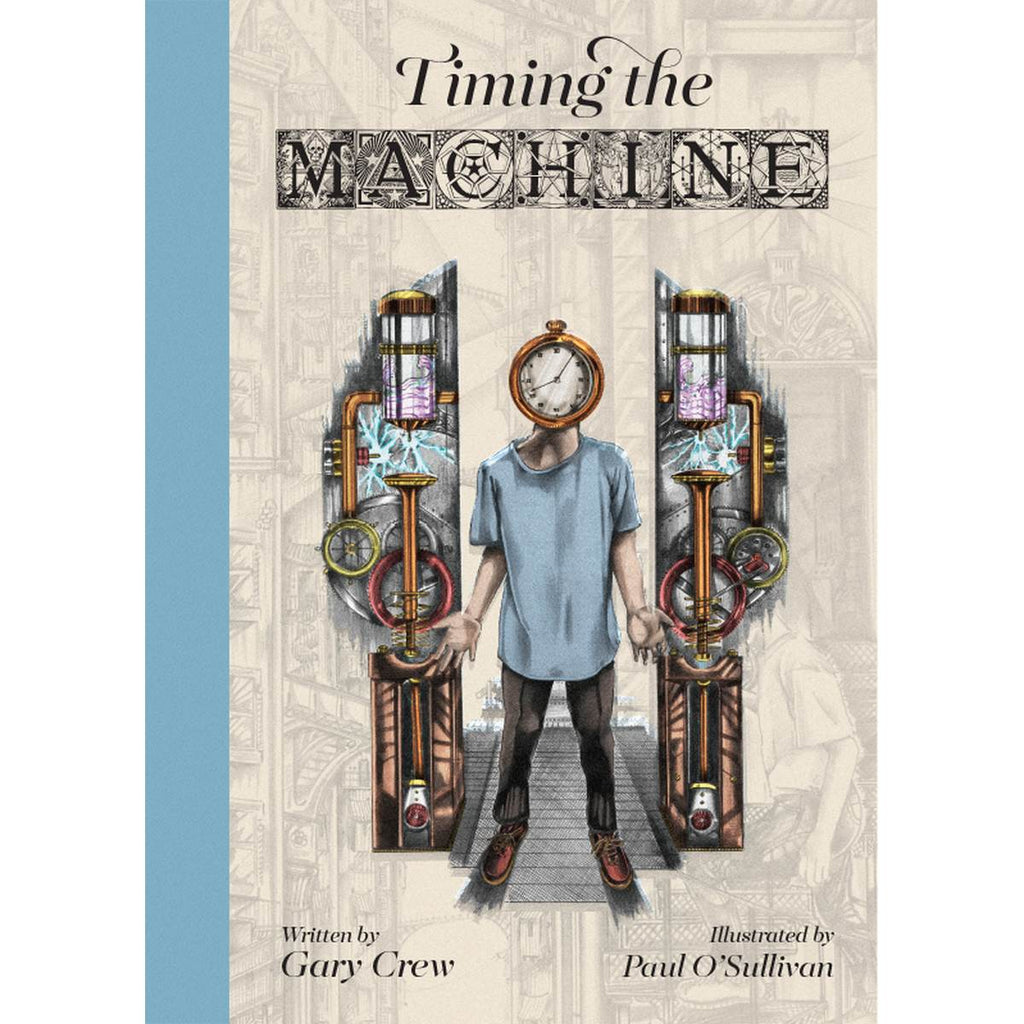 Book featuring cover art of Timing the Machine