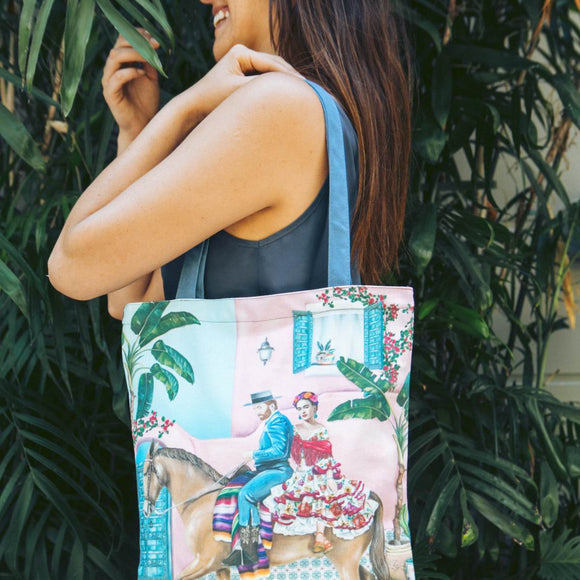 Tote Bag | Fridas Paradise with Van Gogh
