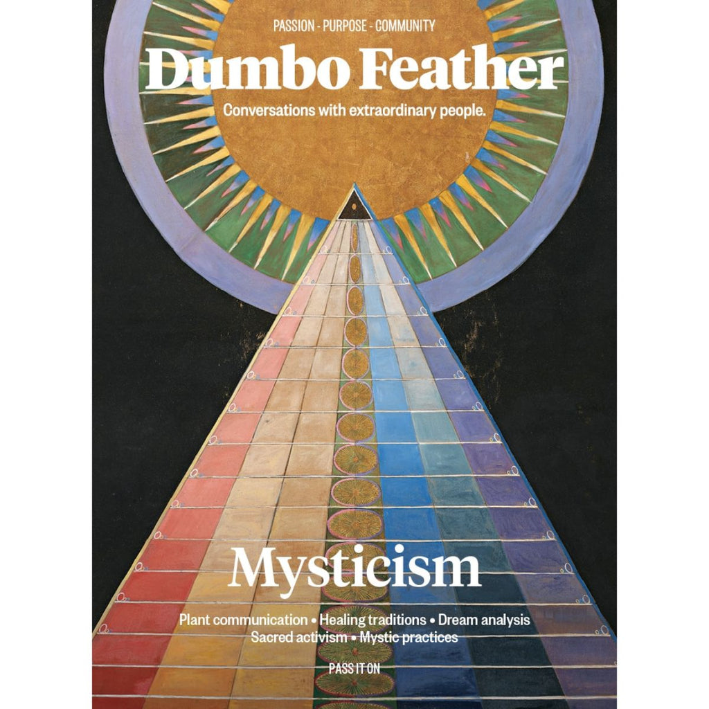 Dumbo Feather Magazine Cover Issue 62 Mysticism