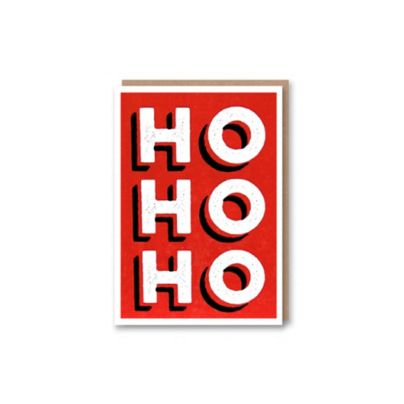 Greeting Card | Ho Ho Ho | Xmas