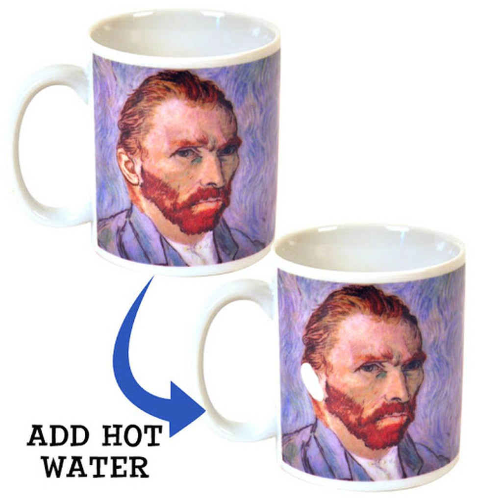 Heat Image Changing Mug | Van Gogh DissapEAR