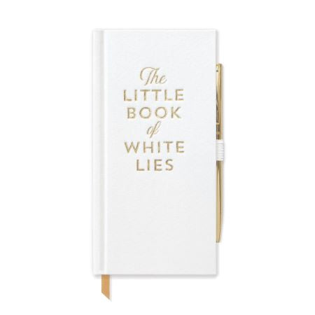 Notebook & Pen: White Lies