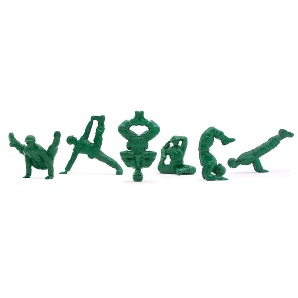 Yoga Joes Green Advanced Series
