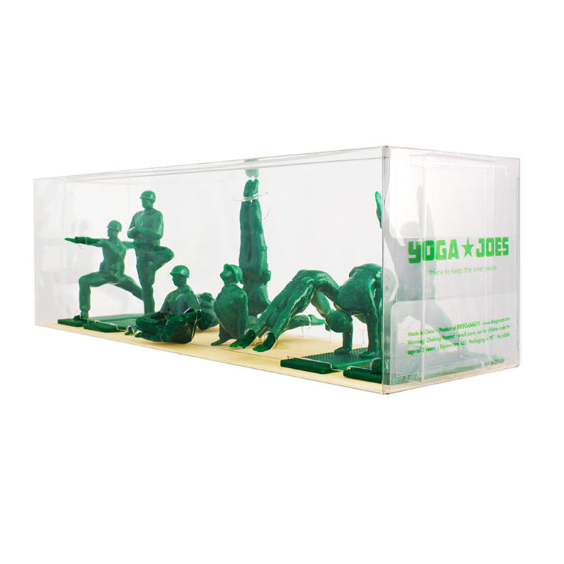 Yoga Joes - Series One Green