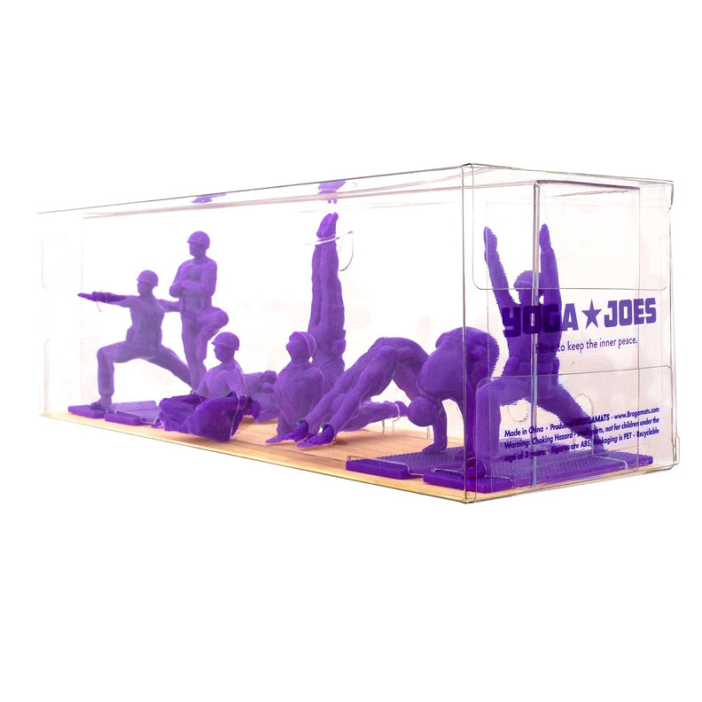 Yoga Joes - Series One Purple