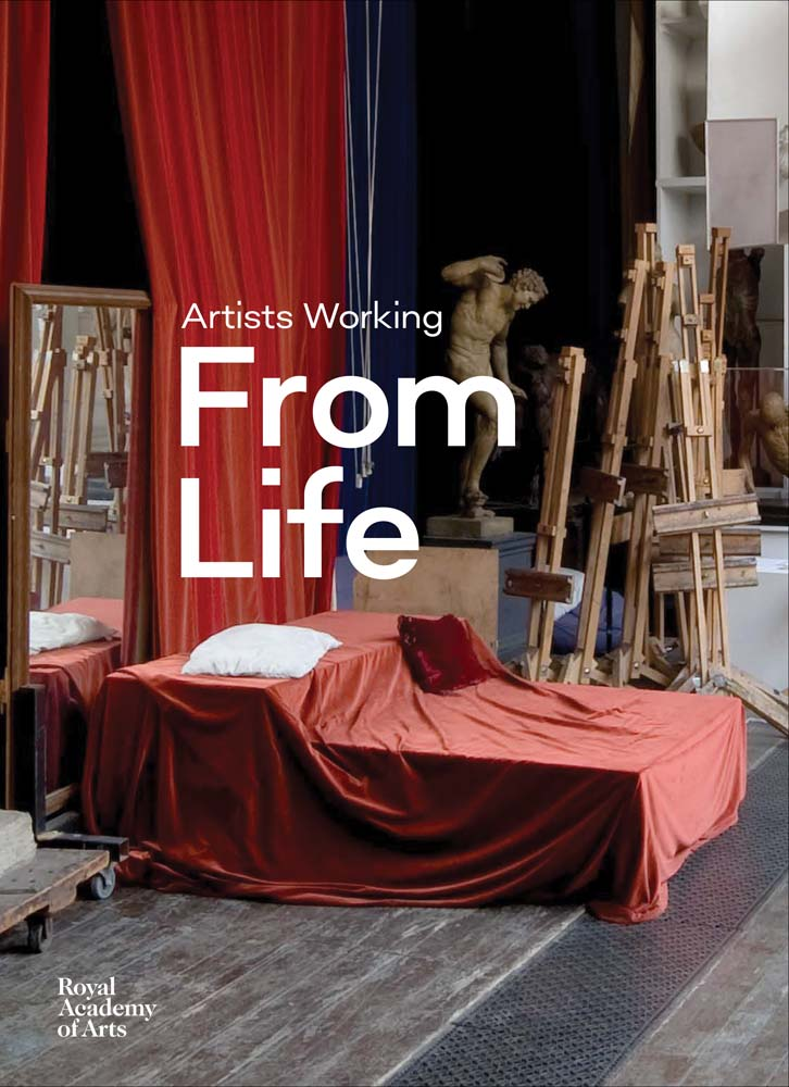 Book featuring cover art of Artist Working from Life