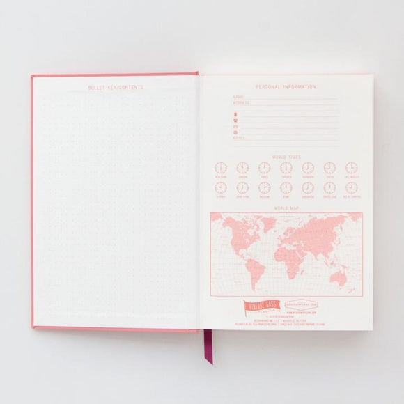 Hardcover Notebook Can't Touch This | Pink