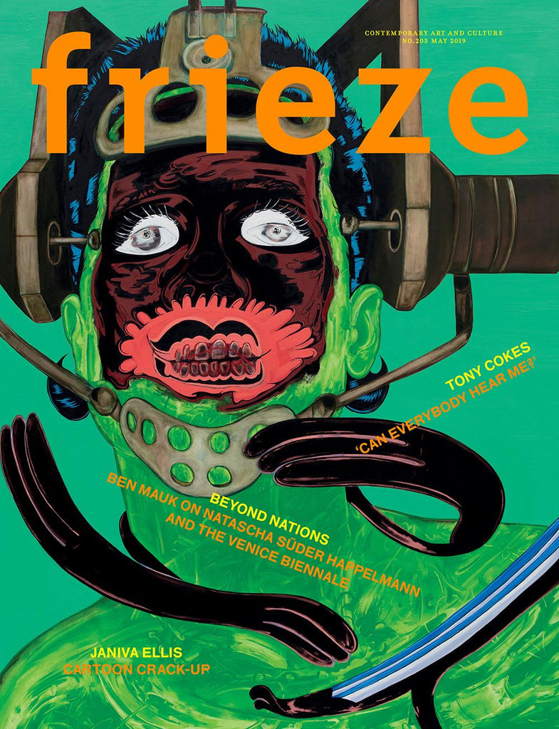 Magazine Cover featuring Issue 204 May 2019 Frieze Magazine