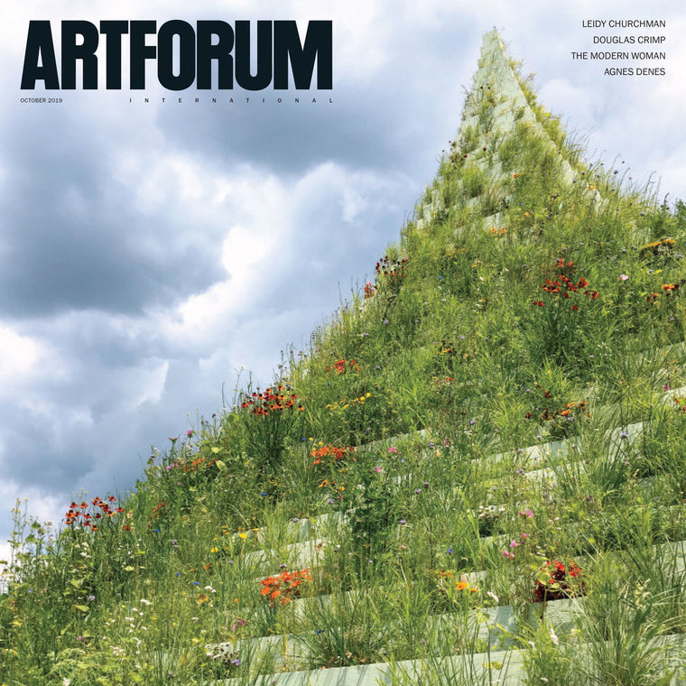 Magazine Cover featuring October 2019 Issue Artforum