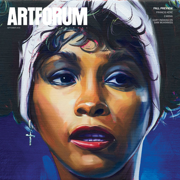 Magazine Cover featuring Issue 58 September 2019 Artforum Magazine