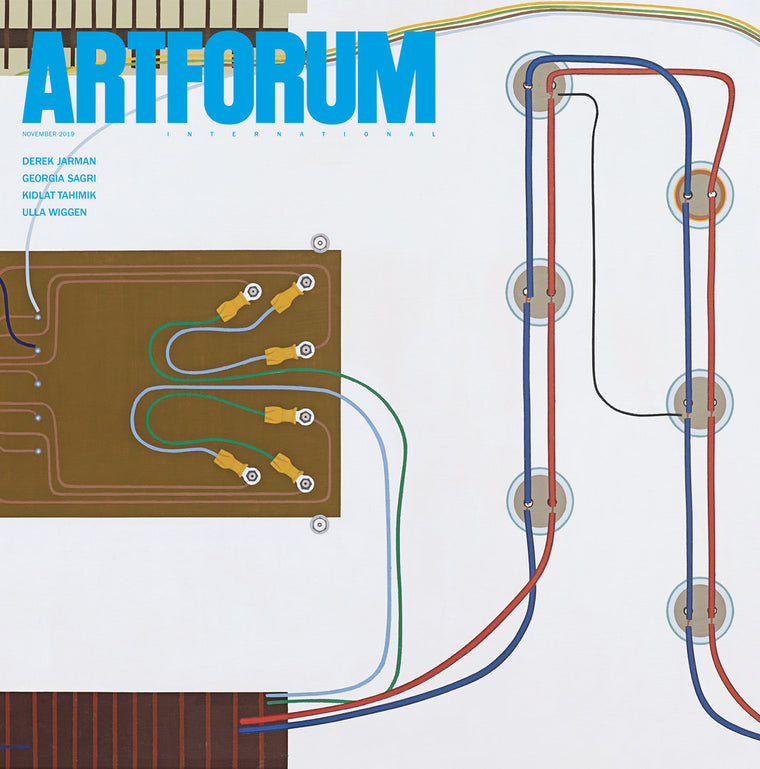 Magazine Cover featuring November 2019 Issue Artforum