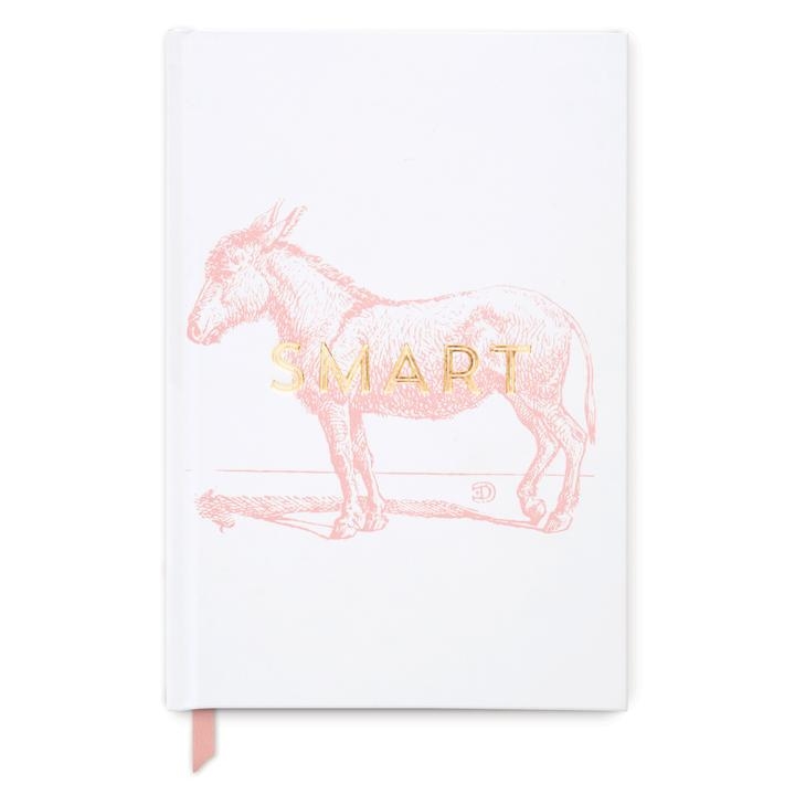 Hardcover Notebook Smart Ass | White