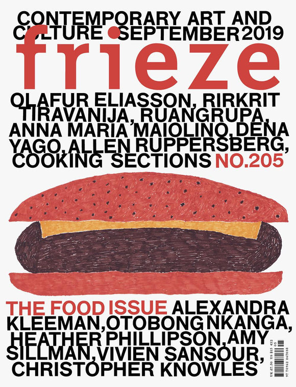 Magazine Cover featuring Issue 205 September 2019 Frieze Magazine