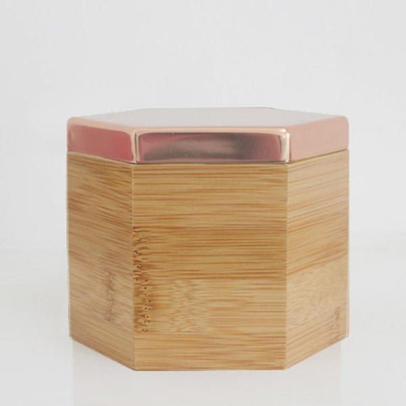 Hex Box Rose Gold Tall