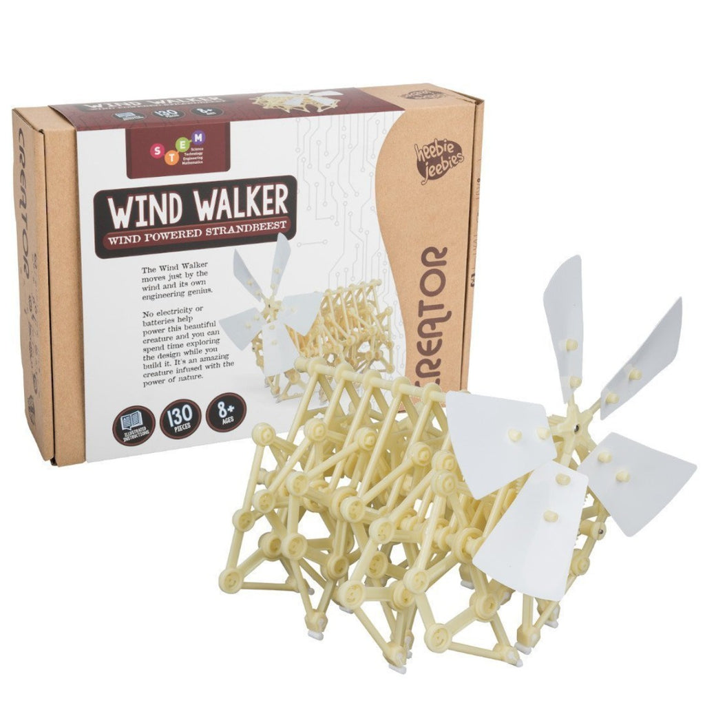 Image featuring the packaging of the Wind Walker with the build wind walker item in front