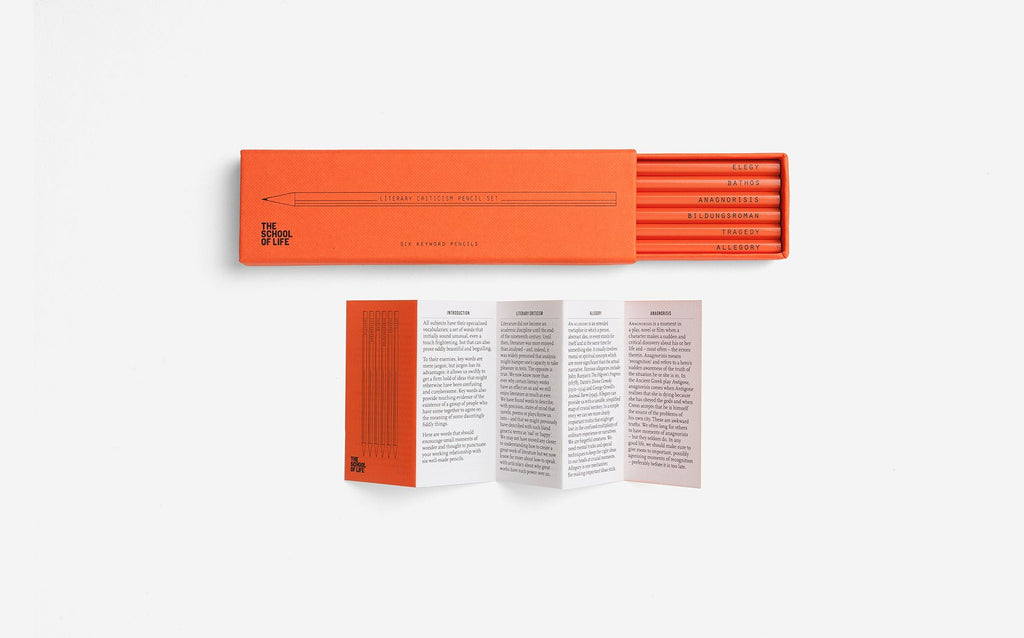 Pencil Set | Literary | The School of Life