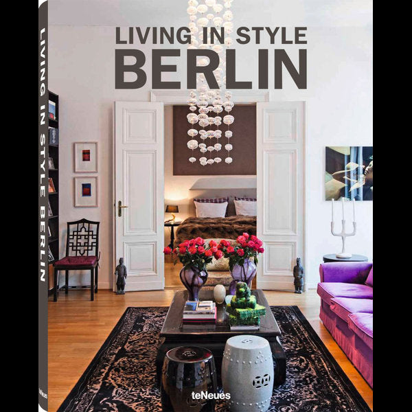 Book featuring cover art of Living in Style Berlin