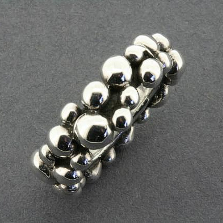 Ring | Sterling Silver | Beaded Band | Assorted Sizes