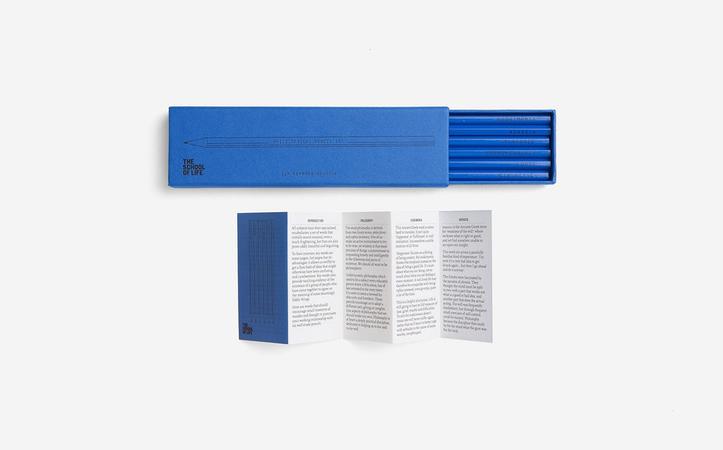 Pencil Set | Philosophical | The School of Life