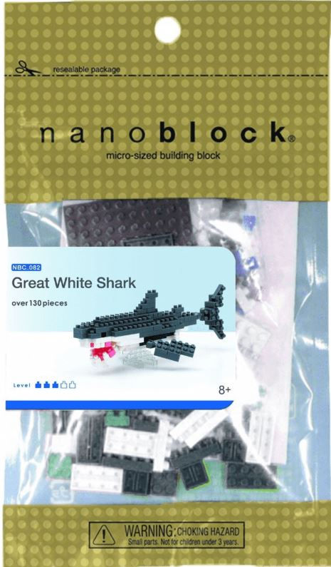 Nanoblock | Great White Shark | Puzzle