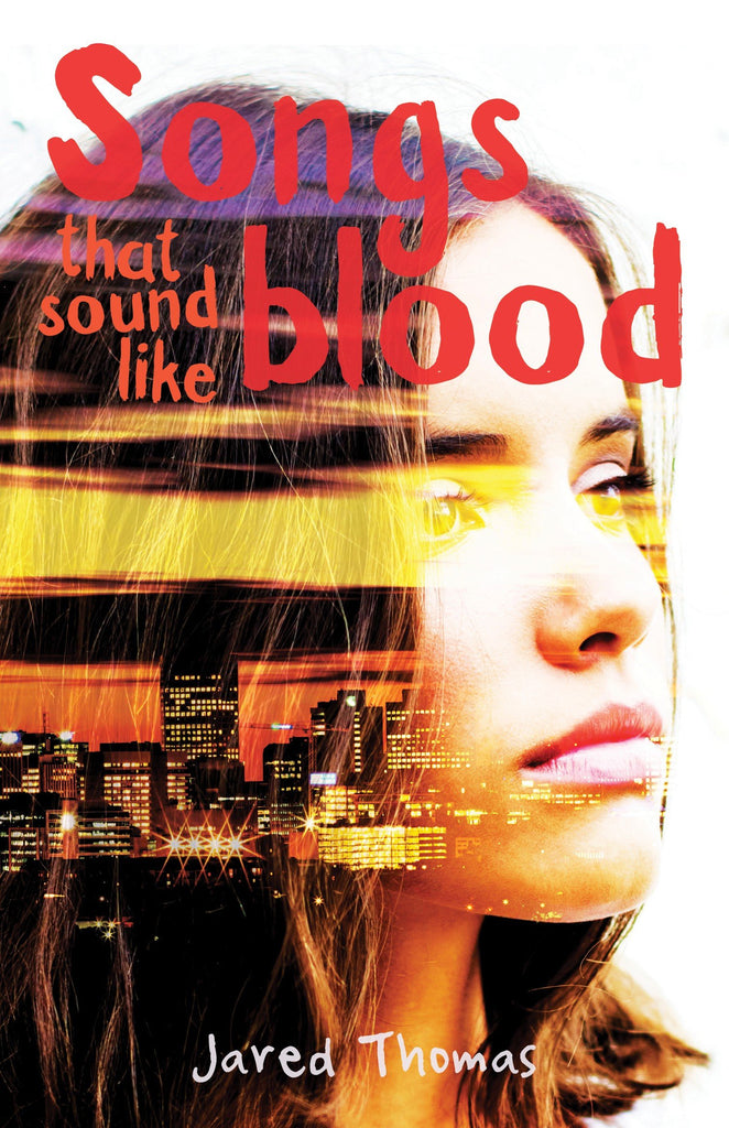 Book featuring cover art of Songs that sound like blood