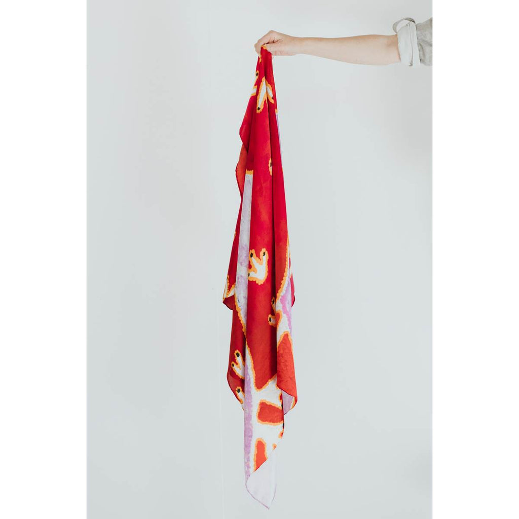 Silk Scarf | Tjulpu by Nyanu Watson | One of Twelve