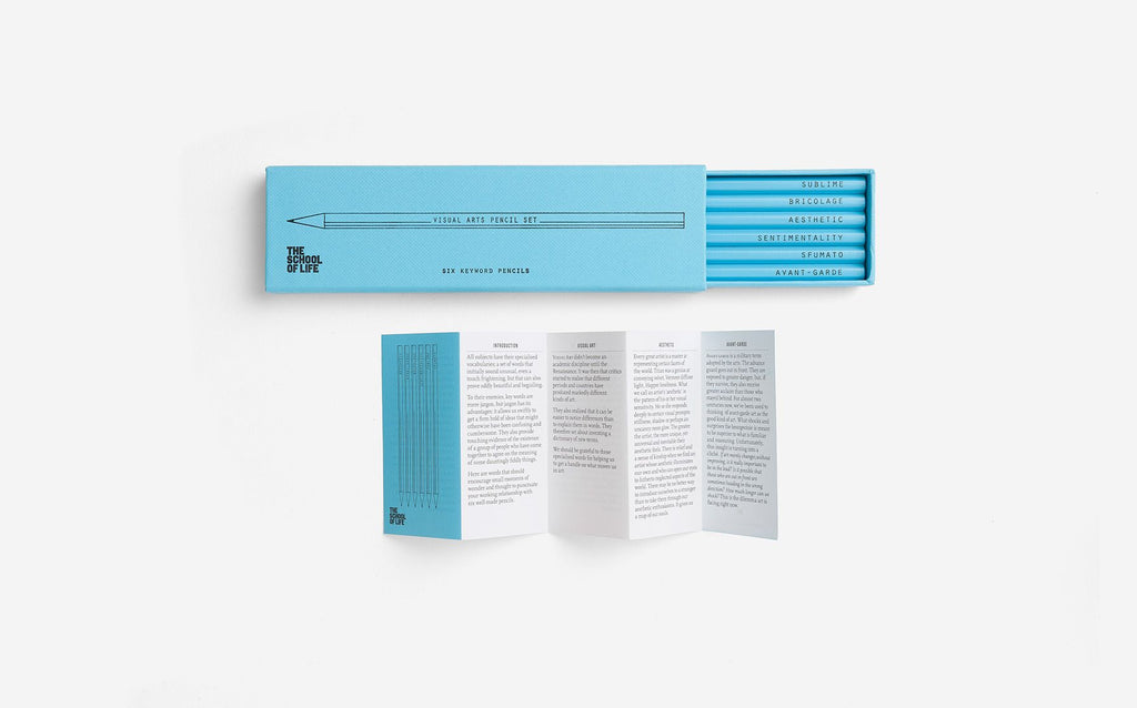 Pencil Set | Visual Arts | The School of Life