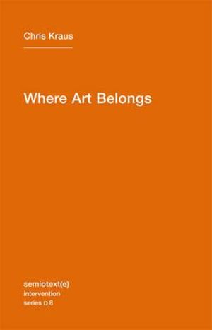 Book featuring cover art of Where Art Belongs Volume Eight