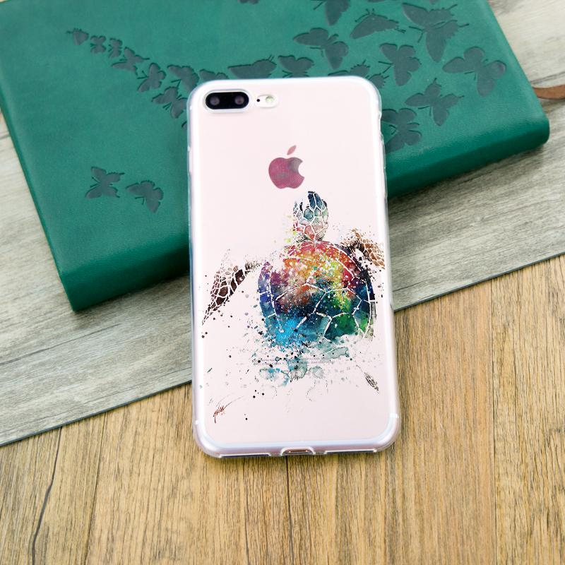 Sea Turtle Silicone iPhone Case