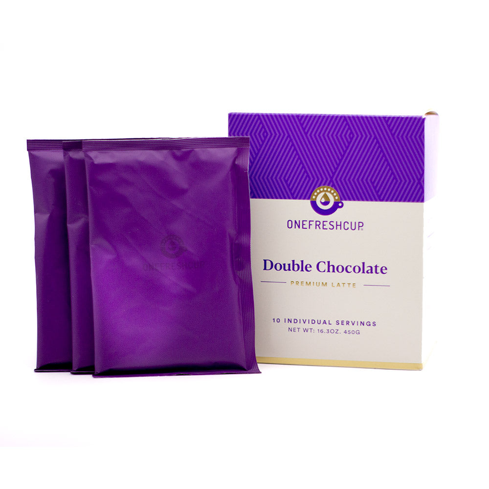 Double Chocolate Premium Latte 10-pack - Premium Latte - One Fresh Cup