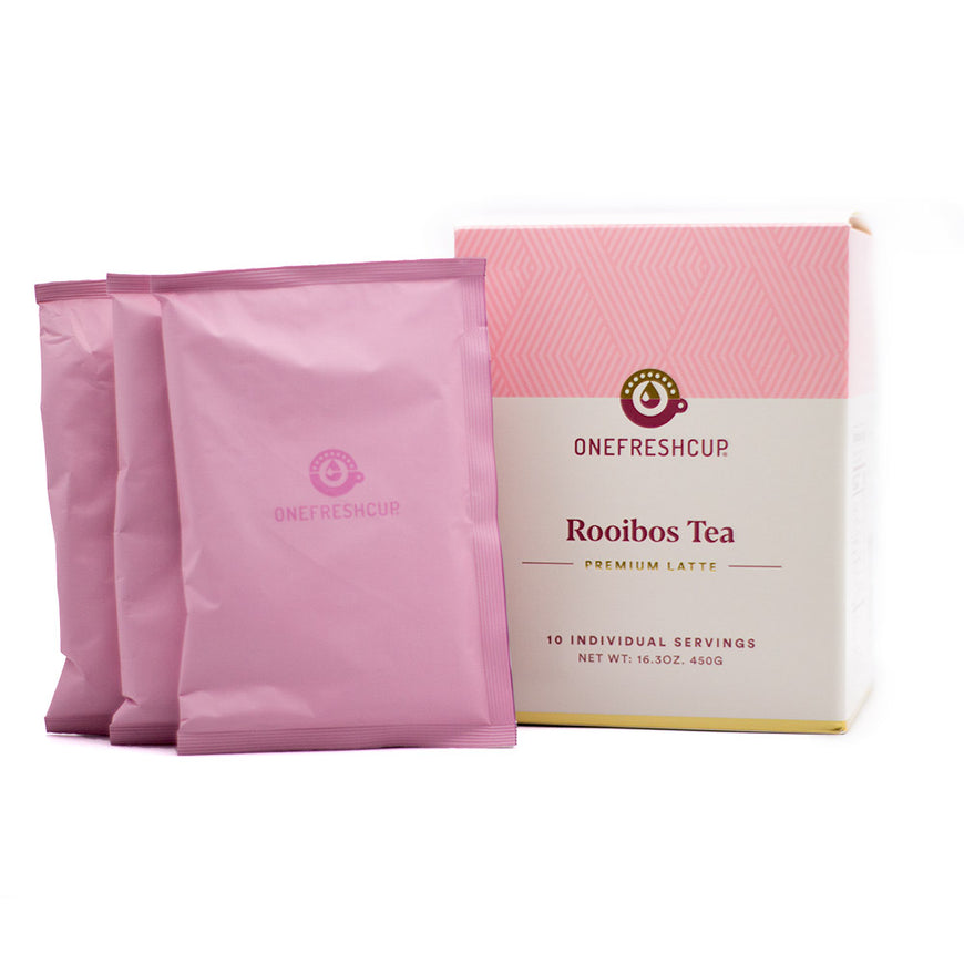 Roobios Tea Premium Latte 10-pack - Premium Latte - One Fresh Cup