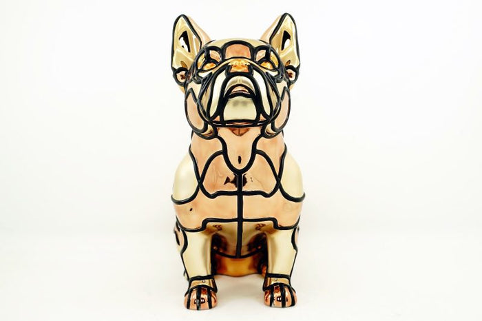"[PRE-ORDER] David Flores' ""Tomodachi"" 10"" Resin Figure (Gold Edition)"