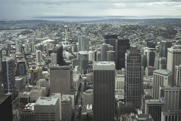 Seattle From Columbia Tower - JOA Photography & Prints